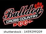 bulldog cross country team... | Shutterstock .eps vector #1459299209