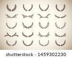 collection of different vintage ... | Shutterstock .eps vector #1459302230