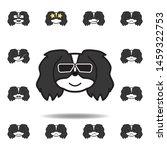 pekingese emoji confident...