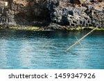 Sailboat Sunk In The Sea