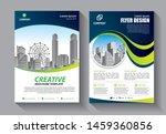 brochure design  cover modern... | Shutterstock .eps vector #1459360856