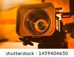 Video Camera On The Crane...