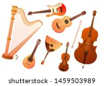 Set Of Stringed Musical...