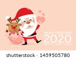 merry christmas and happy new... | Shutterstock .eps vector #1459505780