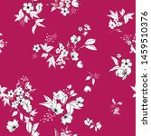 seamless floral pattern in... | Shutterstock .eps vector #1459510376