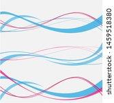 vector blue pink abstract...   Shutterstock .eps vector #1459518380