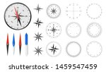 navigational compass with set... | Shutterstock .eps vector #1459547459