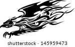 eagle flame | Shutterstock .eps vector #145959473