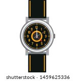 hand watch vector icon isolated ... | Shutterstock .eps vector #1459625336