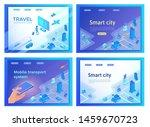 mobile transportation online... | Shutterstock .eps vector #1459670723