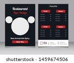 restaurant cafe menu ... | Shutterstock .eps vector #1459674506