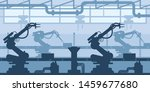 industrial plant  factory... | Shutterstock .eps vector #1459677680