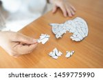 elderly woman hands holding... | Shutterstock . vector #1459775990