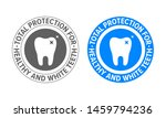 tooth logo for toothpaste and... | Shutterstock .eps vector #1459794236