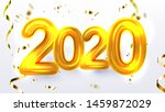 golden 2020 new year xmas party ...   Shutterstock .eps vector #1459872029