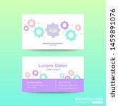 business card design template... | Shutterstock .eps vector #1459891076