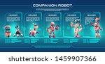 companion robot evolution...   Shutterstock .eps vector #1459907366