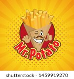 smiled box full with french...   Shutterstock .eps vector #1459919270