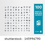 police   medical   fire... | Shutterstock .eps vector #145996790