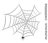 spider on web for halloween...   Shutterstock .eps vector #1460000066
