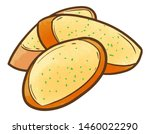 funny and yummy 3 slices of...   Shutterstock .eps vector #1460022290