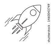rocket icon design. rocket...