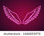 vector illustration of pink... | Shutterstock .eps vector #1460053970