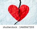 broken heart  loss  ended... | Shutterstock . vector #1460067203