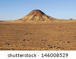 mountain in the sinai desert | Shutterstock . vector #146008529