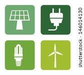 energy icons over white... | Shutterstock .eps vector #146014130
