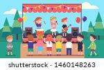 artists children music band...   Shutterstock .eps vector #1460148263