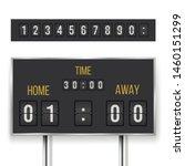 mechanical score board ... | Shutterstock .eps vector #1460151299