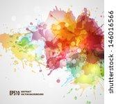 vector blots background   Shutterstock .eps vector #146016566