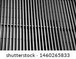 black gray columns intersecting ...