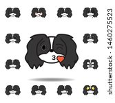 pekingese emoji kissing heart...