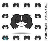 pekingese emoji disappointed...