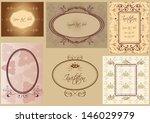 set of vintage frames labels...   Shutterstock .eps vector #146029979
