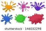 illustration of the colorful... | Shutterstock .eps vector #146032298