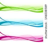 wave design element | Shutterstock .eps vector #146038589