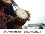 The African Drummer Drumming...