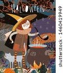 Halloween  Vector Illustration...