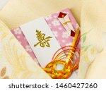 japanese envelope  festive... | Shutterstock . vector #1460427260