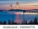 Mackinac Bridge Night Lights ...