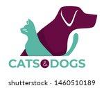vet clinic pets shop or shelter ...   Shutterstock .eps vector #1460510189