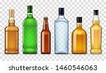 Bottles Of High Spirit Alcohol...