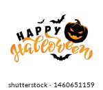 happy halloween   cute hand... | Shutterstock .eps vector #1460651159