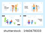 happy family at beach party and ...   Shutterstock .eps vector #1460678333