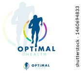 running man silhouette  health... | Shutterstock .eps vector #1460694833