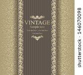 wedding invitation cards... | Shutterstock .eps vector #146070098