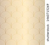 art deco pattern. seamless... | Shutterstock .eps vector #1460715269
